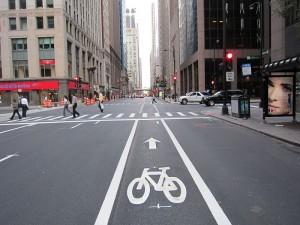 Droga rowerowa w Chicago - tam potrafią