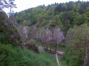 Dolinka Mnikowska widziana z ołtarza