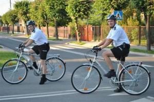 Radomscy policjanci na rowerach