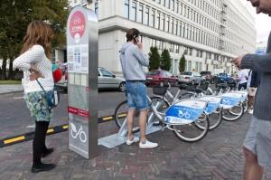 Miejska wypożyczalnia rowerów w Warszawie Veturilo