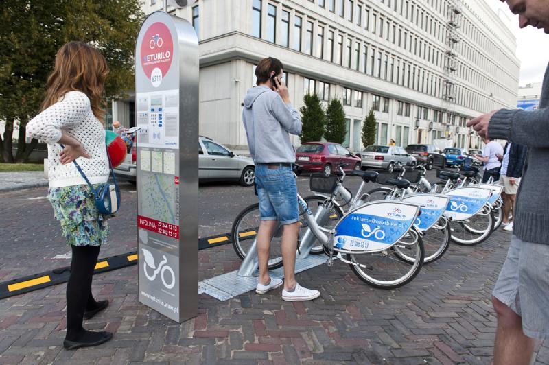 Warszawskiej wypożyczalni rowerów problemy….