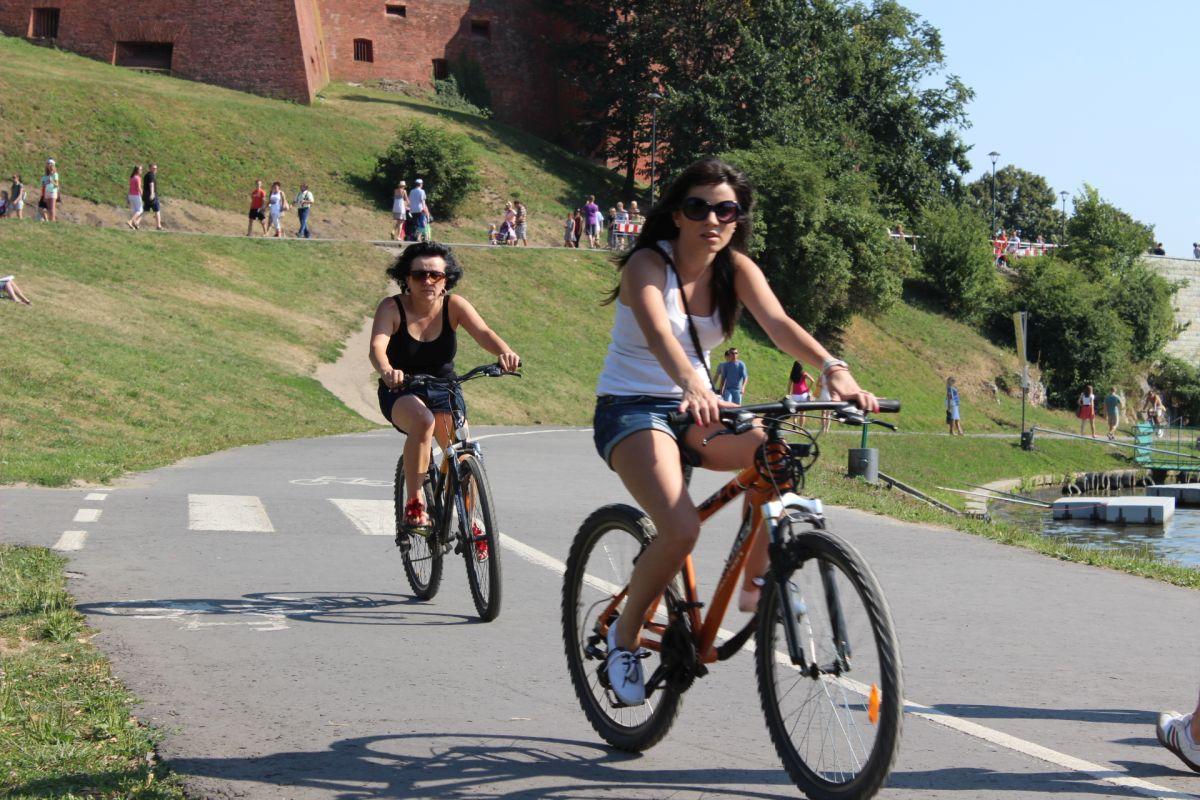 Ścieżki rowerowe w Krakowie [mapa]
