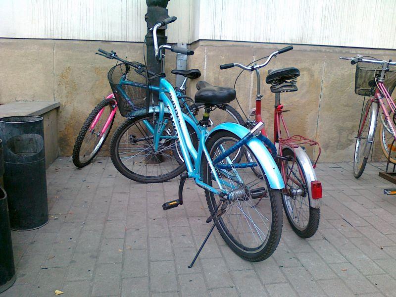 Przypinaj rower jak należy!