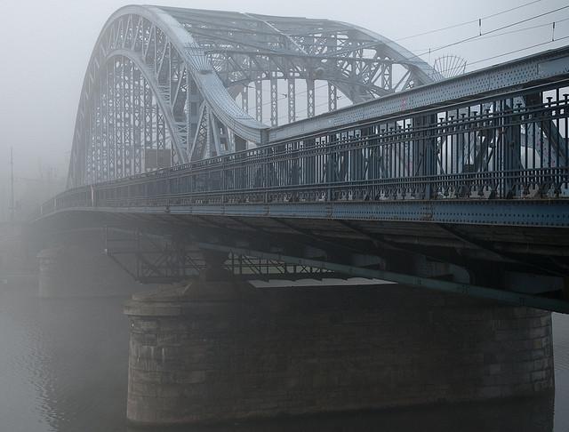 Krakowska mgła, kilkudziesięciu rowerzystów i cztery obserwacje