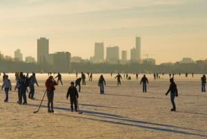 Zima w Holandii