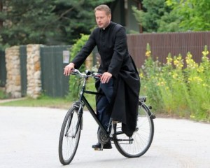 Oto rower ojca Mateusza
