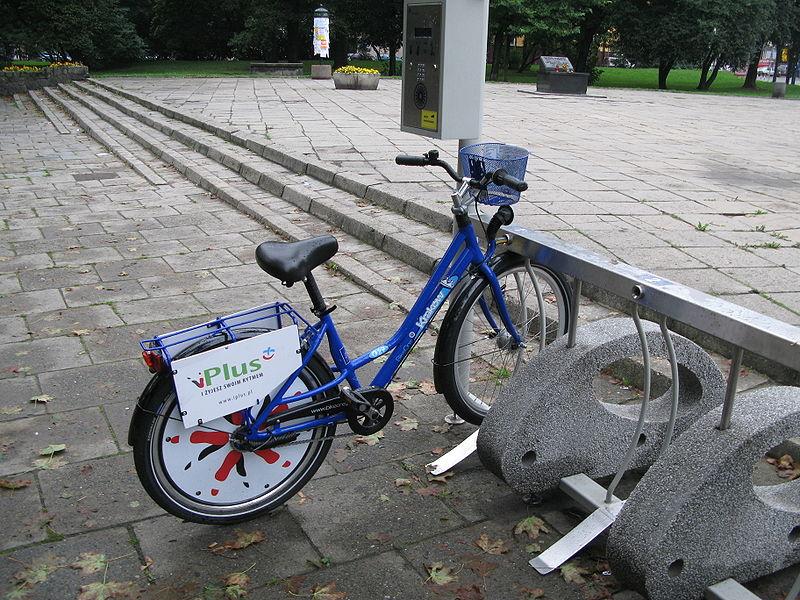 Co z miejskim rowerem w Krakowie? [mapa]