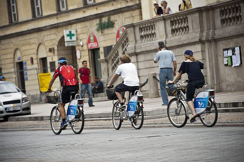 Veturilo: warszawski rower miejski trzy razy większy