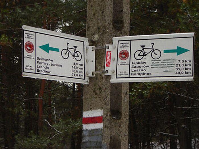 Szlak rowerowy po Puszczy Kampinoskiej