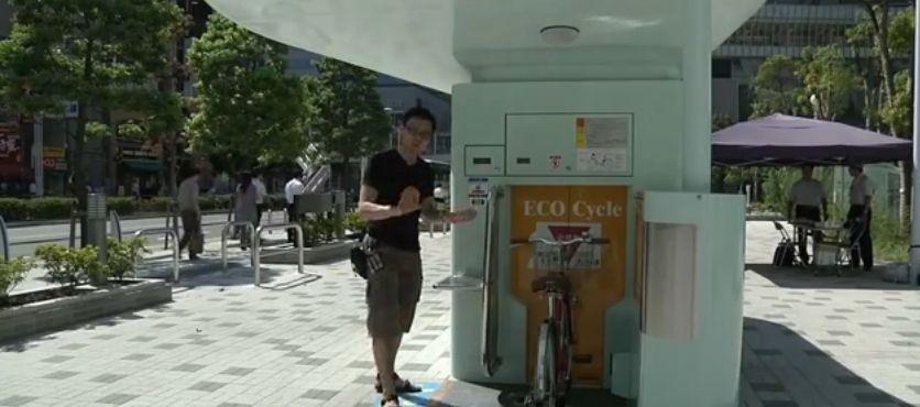 Podziemne rowerowe parkingi, czyli jak to się robi w Japonii
