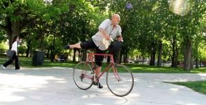 Szalony rowerzysta