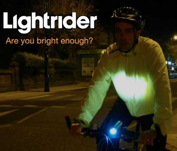Lightrider – dwustronna lampka rowerowa